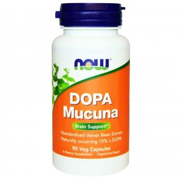 Now Dopa Mucuna 90 caps