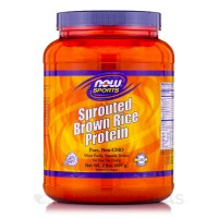 Now Sprouted Brown Rice Protein 907 g