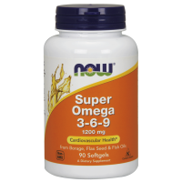 Now Super Omega 3-6-9 1200mg 90 vcaps