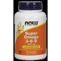 Now Super Omega 3-6-9 1200mg 90 softgels