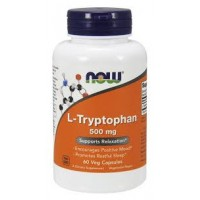 Now Tryptophan 500mg 60 caps