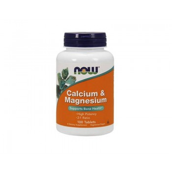Now Calcium & Magnesium 100 tab
