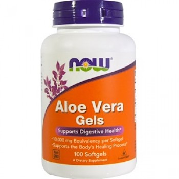 Now Aloe Vera Gels 100 softgels