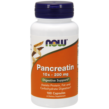 Now Pancreatn 10x 200 mg 100 caps