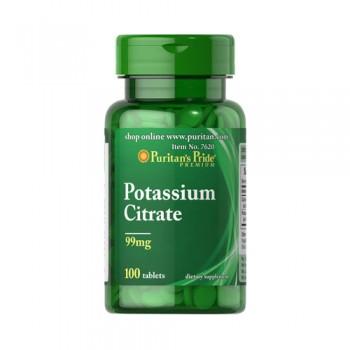 Puritan`s Pride Potassium Citrate 100 tabs