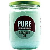 Pure Superfoods Pure Natural Organic Virgin Coconut Oil 400 g