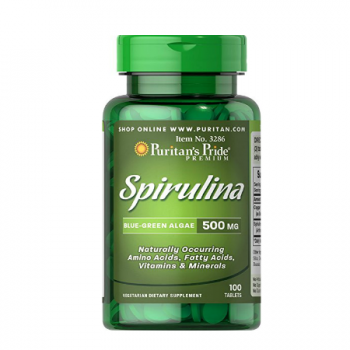 Puritan`s Pride Spirulina 500 mg 100 tablete