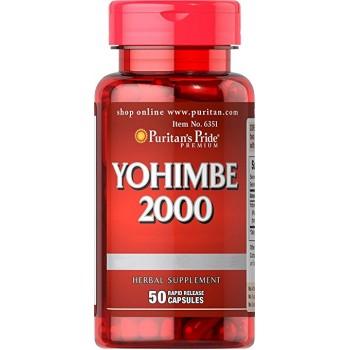 Puritan`s Pride Yohimbe 2000 mg 50 caps