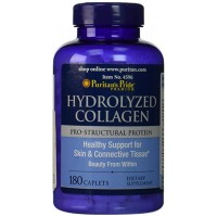 Puritan`s Pride Hydrolyzed Collagen 1000 mg 180 caps
