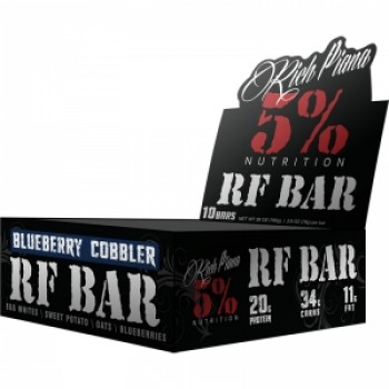 5 Nutrition by Rich Piana Rich Piana 5% Nutrition Real Food Bar 10 bars