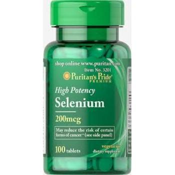 Puritan`s Pride Selenium 200 mcg 100 tablete