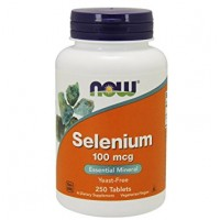 Now Selenium 100 mg 250 tablete