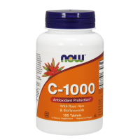 Now vit. C 1000 with  Rose Hips & Bioflavonoids 100 tab