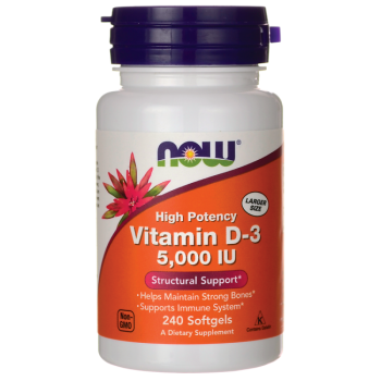 Now Vit D3 2000IU 240 softgels