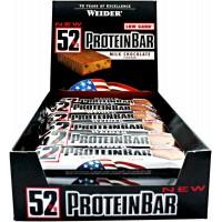 Weider 52% Protein Bar 12 bc