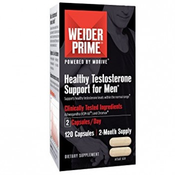 Weider Prime Testosterone Support for Men 60 caps