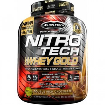 Muscletech Nitro Tech Whey Gold 2.3 kg USA