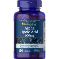 Puritan`s Pride Alpha Lipoic Acid 600 mg 100 caps