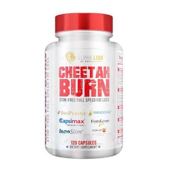 Alpha Lion Cheetah Burn Stim-Free Full Speed Fat Loss 120 caps