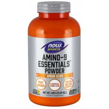 Now Amino-9 Essentials Powder 330 g
