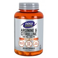 Now Arginine & Citrulline 120 veg caps