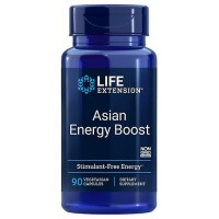 Life Extension Asian Energy Boost 90 veg caps