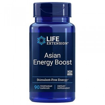 Life Extension Asian Energy Boost 90 veg caps