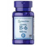 Puritan`s Pride Vitamin B-6 100 mg 100 tab
