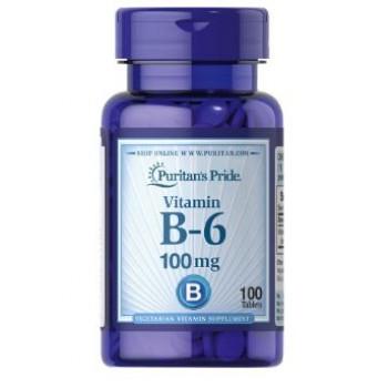 Puritan`s Pride Vitamin B-6 100 mg 100 tab