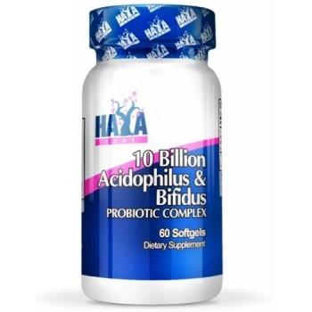 Haya Labs 10 Billion Acidophilus & Bifidus 60 caps