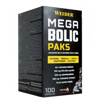 Weider Mega Bolic paks 100 caps