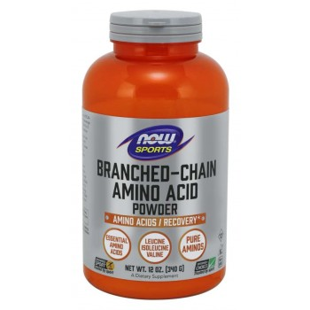 Now Branched-Chain Amino Acid Powder 340 g