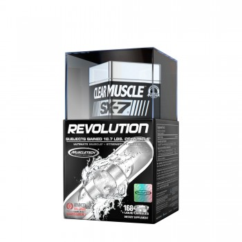 Muscletech Clear Muscle SX-7 Revolution 168 caps