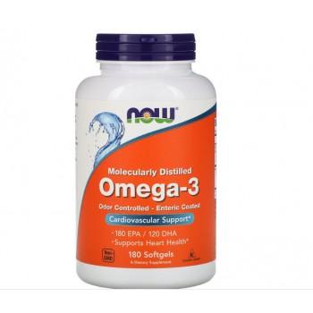 Now Omega-3 Enteric Coated 180 softgels