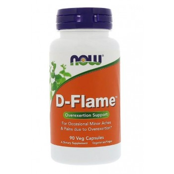 Now D-Flame 90 veg caps
