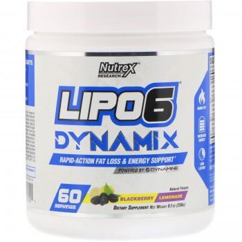 Nutrex Lipo 6 Dynamix 258 g