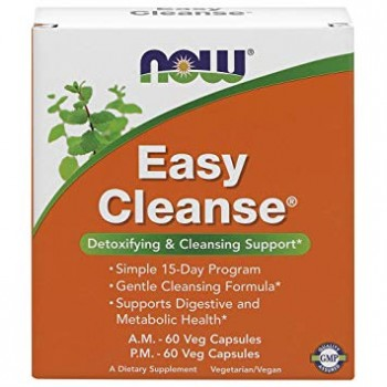 Now Easy Cleanse 60+60 vcaps