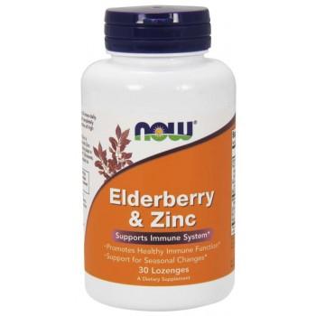 Now Elderberry & Zinc 30 lozenges