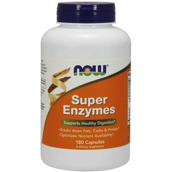 Now Super Enzymes 180 caps