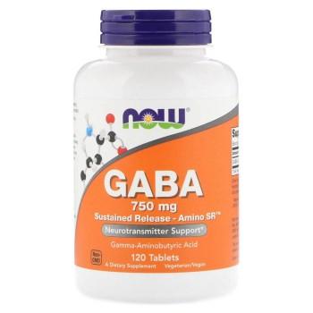 Now Gaba 750 mg 120 tab