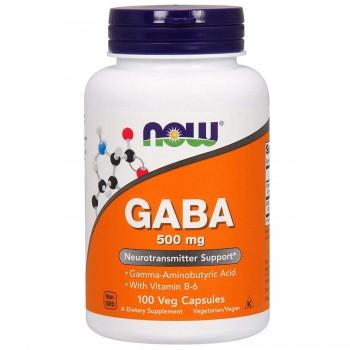 Now Gaba 500 mg 100 vcaps