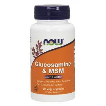 Now Glucosamine + MSM 60 veg caps