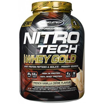 Muscletech Nitro Tech 100% Whey Gold 2.5 kg
