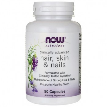 Now Clinical Hair, Skin and Nails 90 veg caps