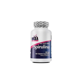 Haya Labs All Natural Spirulina 500 mg 100 tab