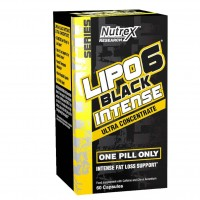 Nutrex Lipo 6 Black Intense Ultraconcentrate with Black Pepper USA 60 caps