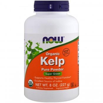 Now Organic Kelp Pure Powder 227 g
