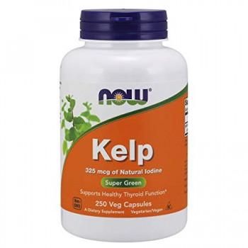 Now Kelp 250 veg caps