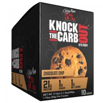 5 Nutrition by Rich Piana Rich Piana 5% Nutrition Knock The Carb Out Keto Cookie 10x 50 g