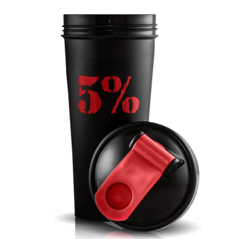 5 Nutrition by Rich Piana Rich Piana 5% Nutrition Shaker 600 ml